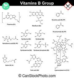 b, gruppe, vitamine