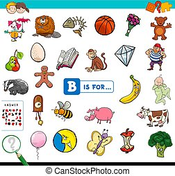 B is for educational game for children