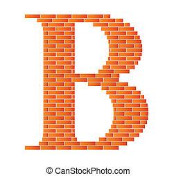 b., letra