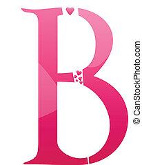 b, lettera