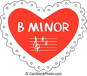 B Minor Valentine - A musical take on Be Mine.