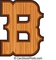 b, ocidental, letra