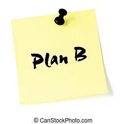 b, plan