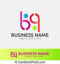 """""""b"""", vecteur, business, conception, lettre, gabarit, etc., logo, compagnie"""
