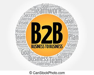 B2B (Business to Business) circle