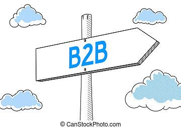 B2B - signpost