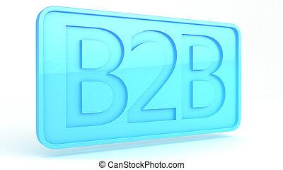 b2b, znak