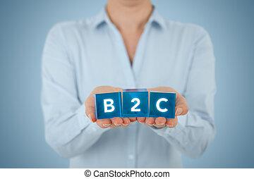 B2C business to consumer - Business to consumer (B2C) ...