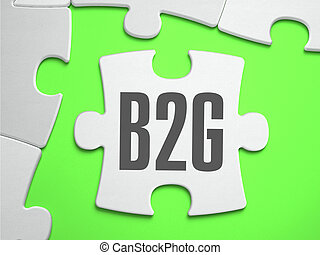 B2G - Jigsaw Puzzle with Missing Pieces.