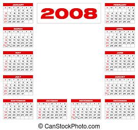b4, calendar2008