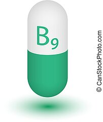b9., vitamine, pictogram