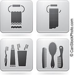 Utensilios ba o bid todos color relacionado for Lista utensilios para bano