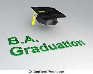 BA Graduation concept