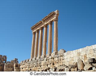 Baalbek ruins - Bekaa Valley