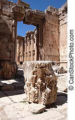 Baalbek ruins. Lebanon