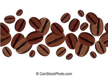 bab, kávécserje, határ