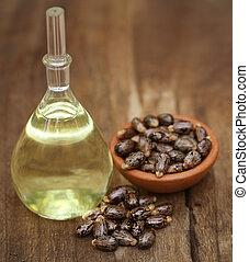 bab, olaj, bútorgörgő