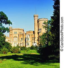 Babelsberg castle in Potsdam, Germany