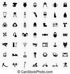 Babies and kids symbols