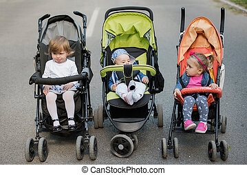 babies in the park