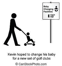 baby, ändern