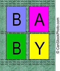 baby, aankondiging, achtergrond