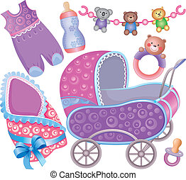Baby accessory cute Set