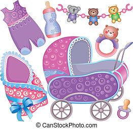 Baby accessory cute Set