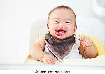 Baby after fed