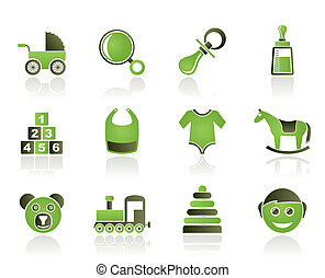 baby and children icons