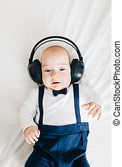 Baby and music