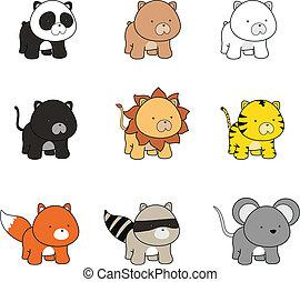 baby animals cartoon 1a