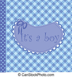 baby arrival announcement for boy