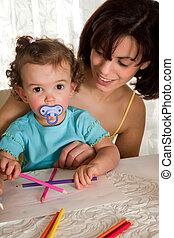 Baby artist