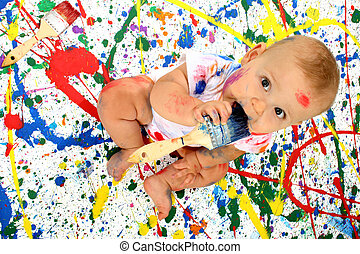 baby, artistiek