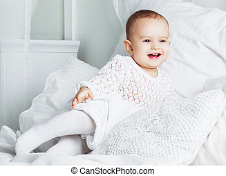 baby at home in bed
