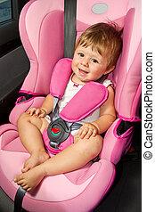 baby, automobilen, seat., sikkerhed, garanti