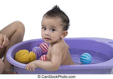 baby, baden