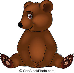 Baby bear cartoon