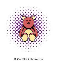 Baby bear comics icon