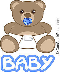 Baby bear - Creative design of baby bear