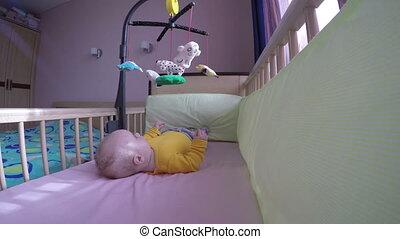 baby bed carousel window