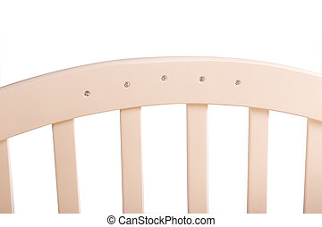 baby bed wooden