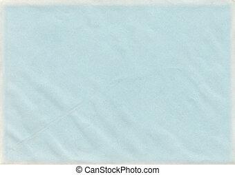 baby blauw, papier