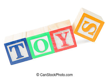 Baby blocks spelling toys