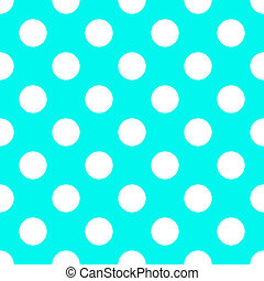 Baby Blue Polka Dot Seamless Paper Pattern