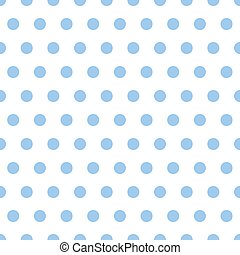 Baby Blue Polka Dots