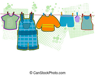 Baby Boy Clothes with Clipping Path