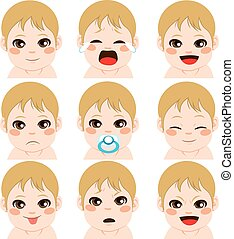 Baby Boy Expressions