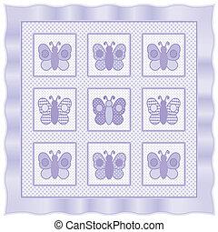 Baby Butterflies Quilt - Baby butterflies, big hearts, ...